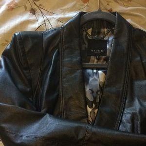 Ted Baker Leather jacket size 2